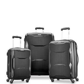 Samsonite Pivot 3 Piece Set in the color Brushed Black.