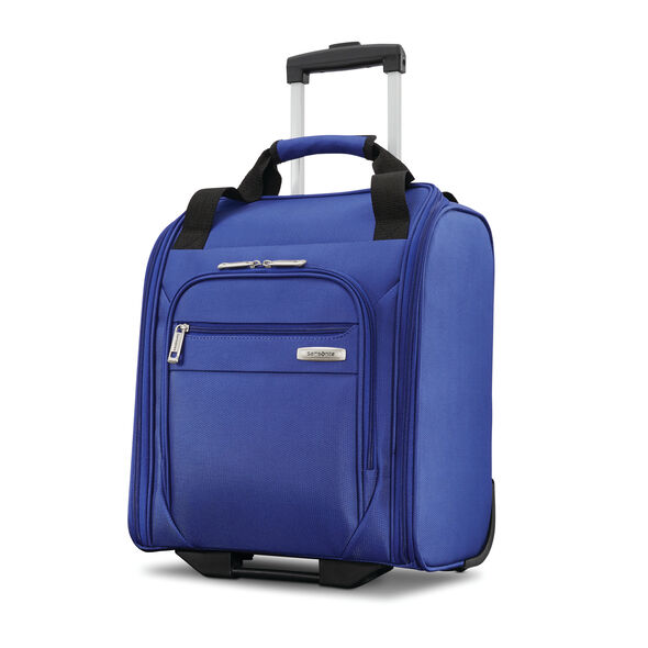 Samsonite Advena Wheeled Carry-On Underseater in the color Cobalt Blue.