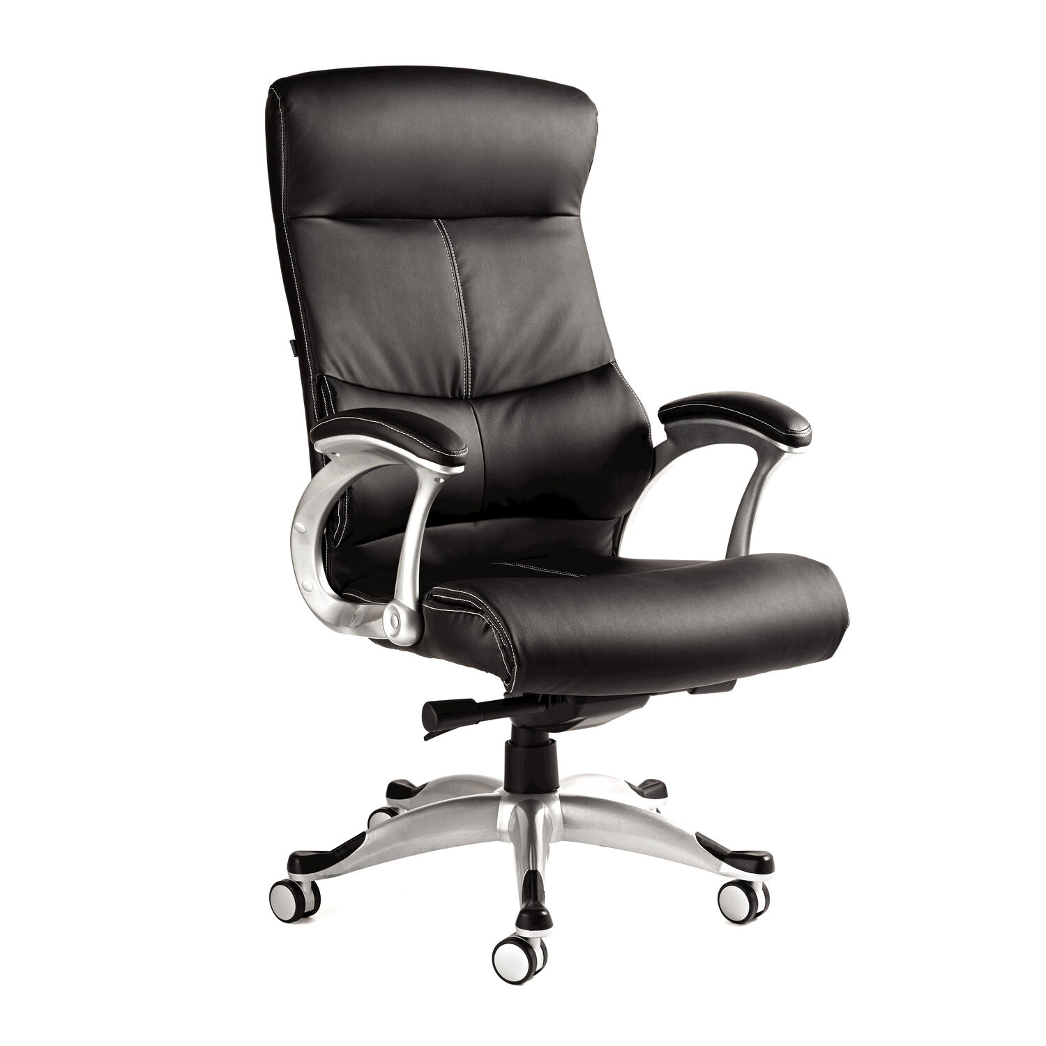office leather chair. Samsonite Singapore Premium Bonded Leather Chair In The Color Black. Office B