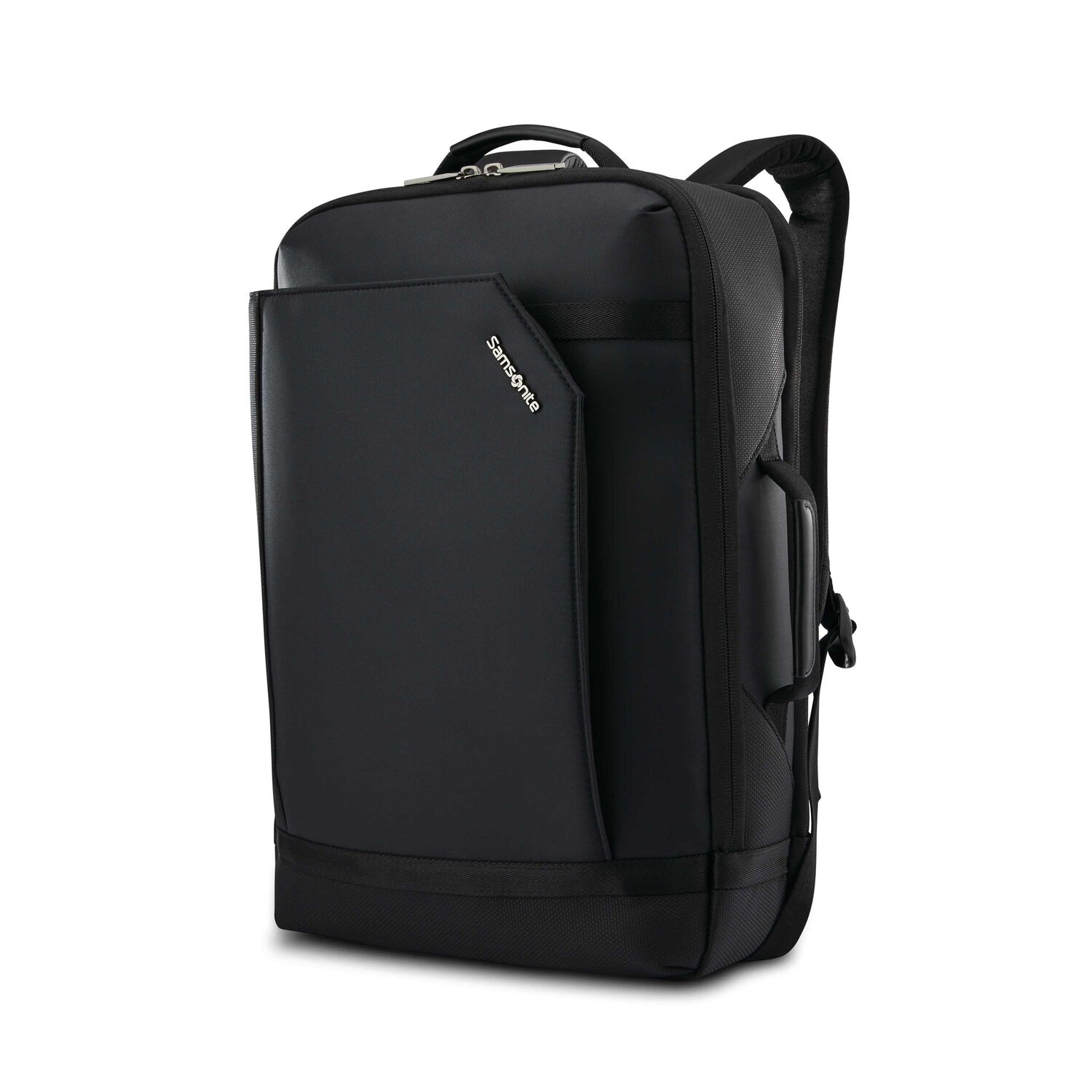 Samsonite Encompass Convertible Backpack in the color Black.
