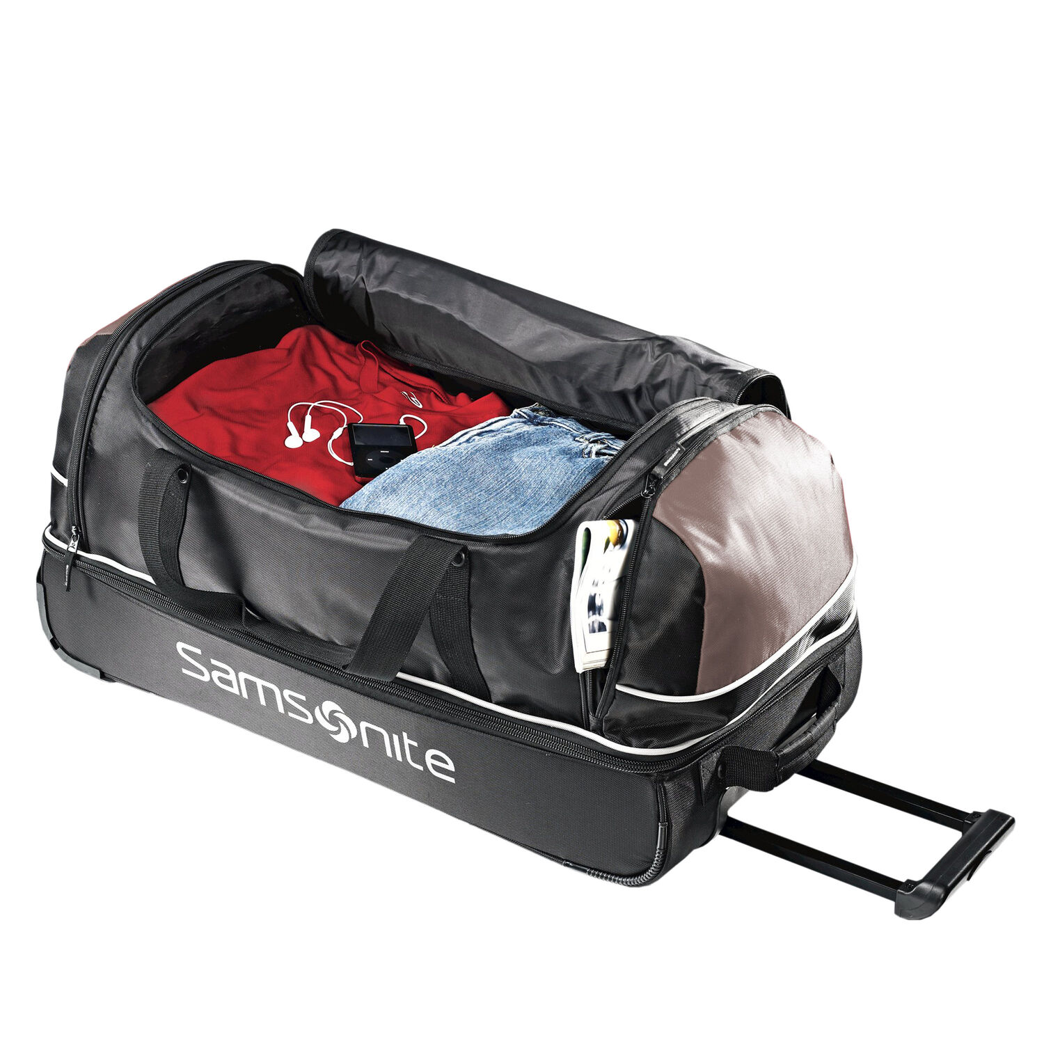 """6a63cc178 Samsonite Andante 28"""" Drop Bottom Wheeled Duffle in the color ..."""