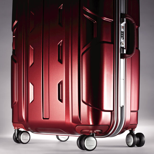 "Samsonite Cruisair DLX 30"" Spinner in the color Burgundy."