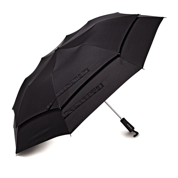 Samsonite Samsonite Windguard Auto Open Umbrella in the color Black.
