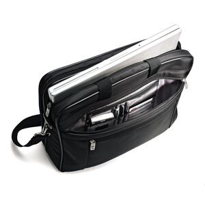 "Samsonite Classic Business Laptop Bag - 17"" in the color Black."