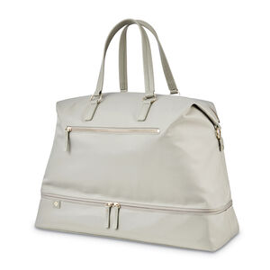 Encompass Womens Convertible Weekend Duffel in the color Stone.