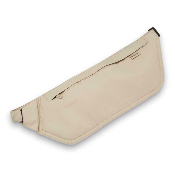 Samsonite RFID Waist Belt in the color Cream.
