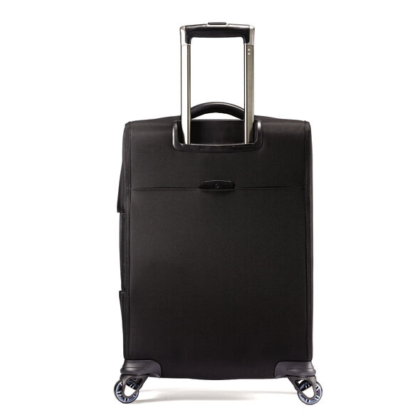 "Samsonite Pro 4 DLX 21"" Spinner in the color Black."