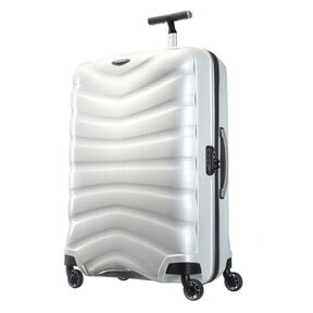 "Samsonite Firelite 30"" Spinner in the color Off White."