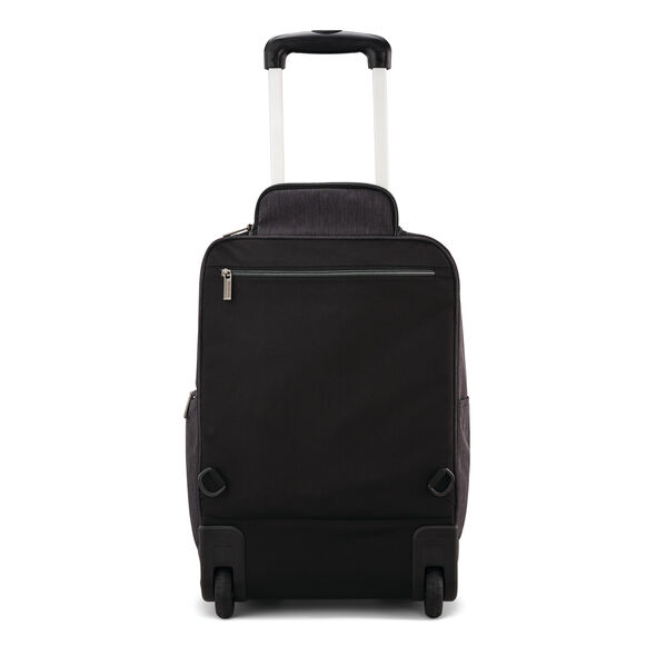 Samsonite Modern Utility Convertible Wheeled Backpack in the color Charcoal Heather/Charcoal.
