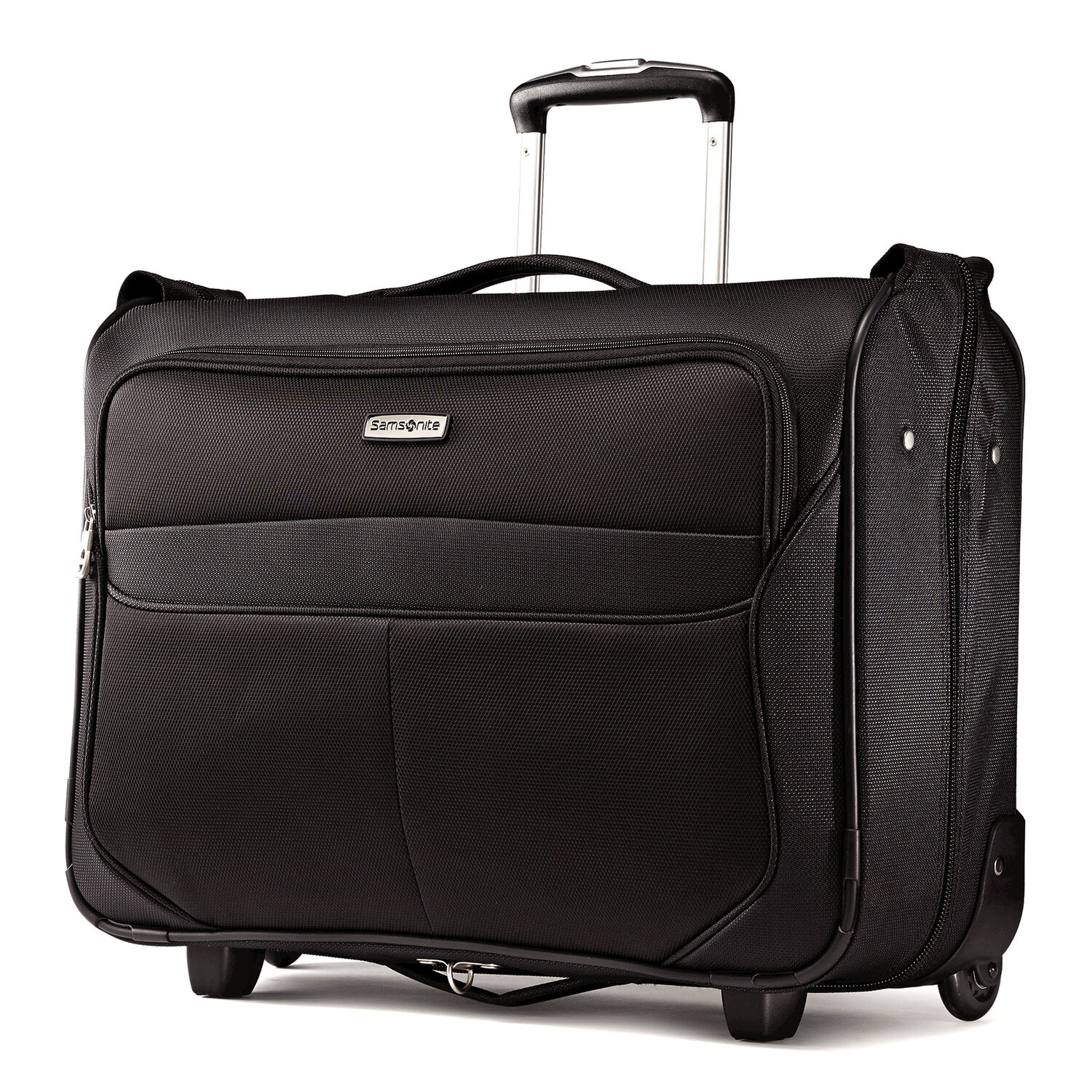 202054665d Samsonite Lift 2 Carry-On Wheeled Garment Bag in the color Black.