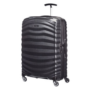 "Samsonite Black Label Lite-Shock 25"" Spinner in the color Black."