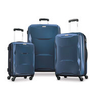 Samsonite Pivot 3 Piece Set in the color Lagoon.