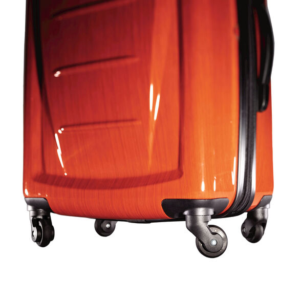 "Samsonite Winfield 2 Fashion 24"" Spinner in the color Orange."