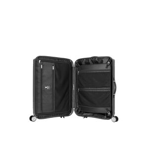 "Samsonite Hartlan 20"" Spinner in the color Black."