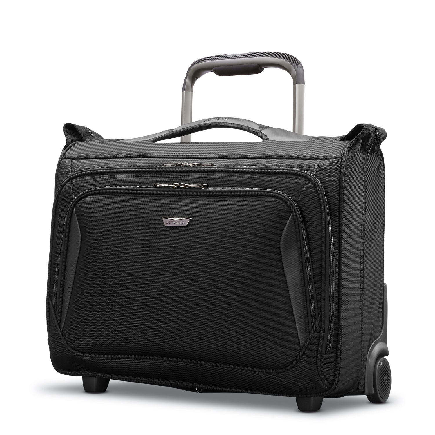 Samsonite Armage Wheeled Carry On Garment Bag In The Color Black