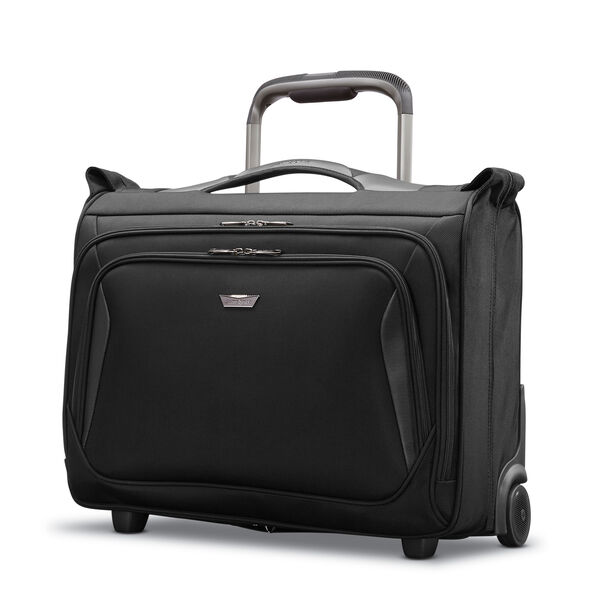 Samsonite Armage Wheeled Carry On Garment Bag in the color Black.