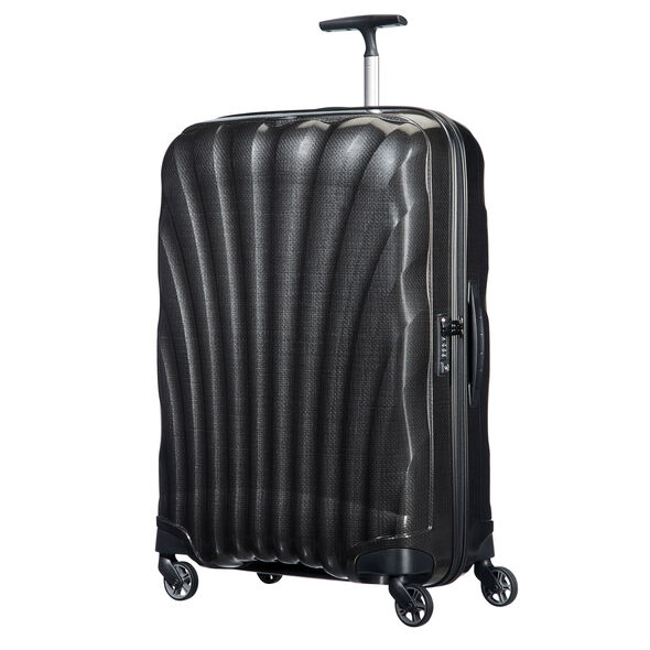 "Samsonite Black Label Cosmolite 3.0 28"" Spinner in the color Black."