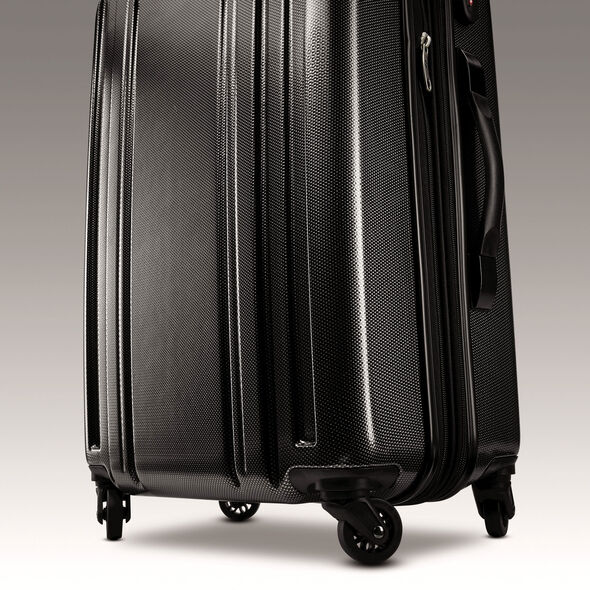 "Samsonite Carbon 2 24"" Spinner in the color Silver."