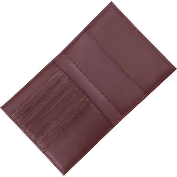 Samsonite Leather Passport Case in the color Sangria.