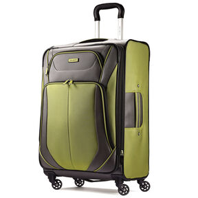 "Samsonite Elevation Xtreme 29"" Spinner in the color Grey/Lime."