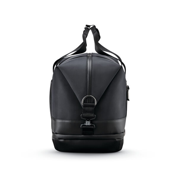 Samsonite Valt Zip Bottom Weekender in the color Black.