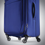 "Samsonite Advena 20"" Expandable Spinner in the color Cobalt Blue."