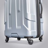 "Samsonite Centric 20"" Spinner in the color Silver."