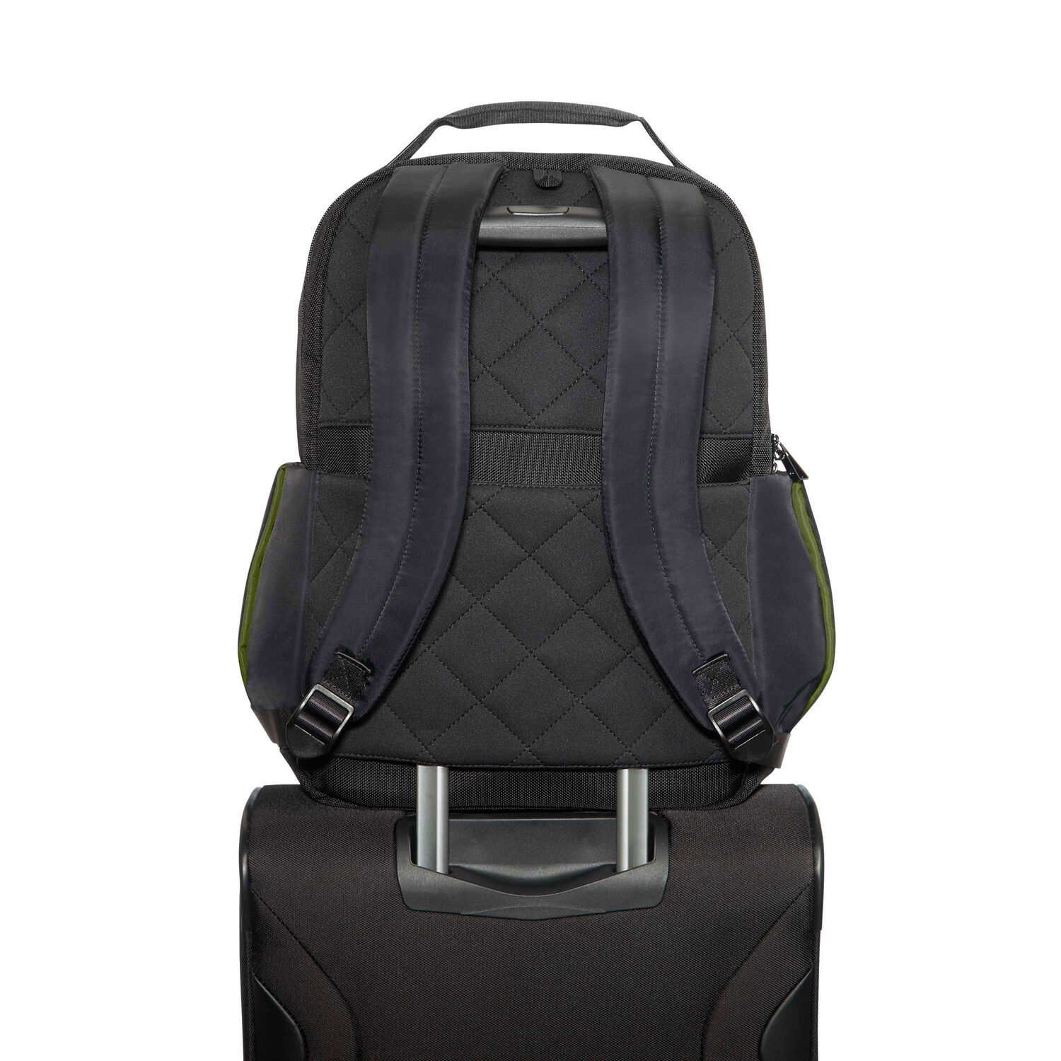 7f6bba45be Samsonite Openroad 15.6 quot  Laptop Backpack in the color Jet Black.