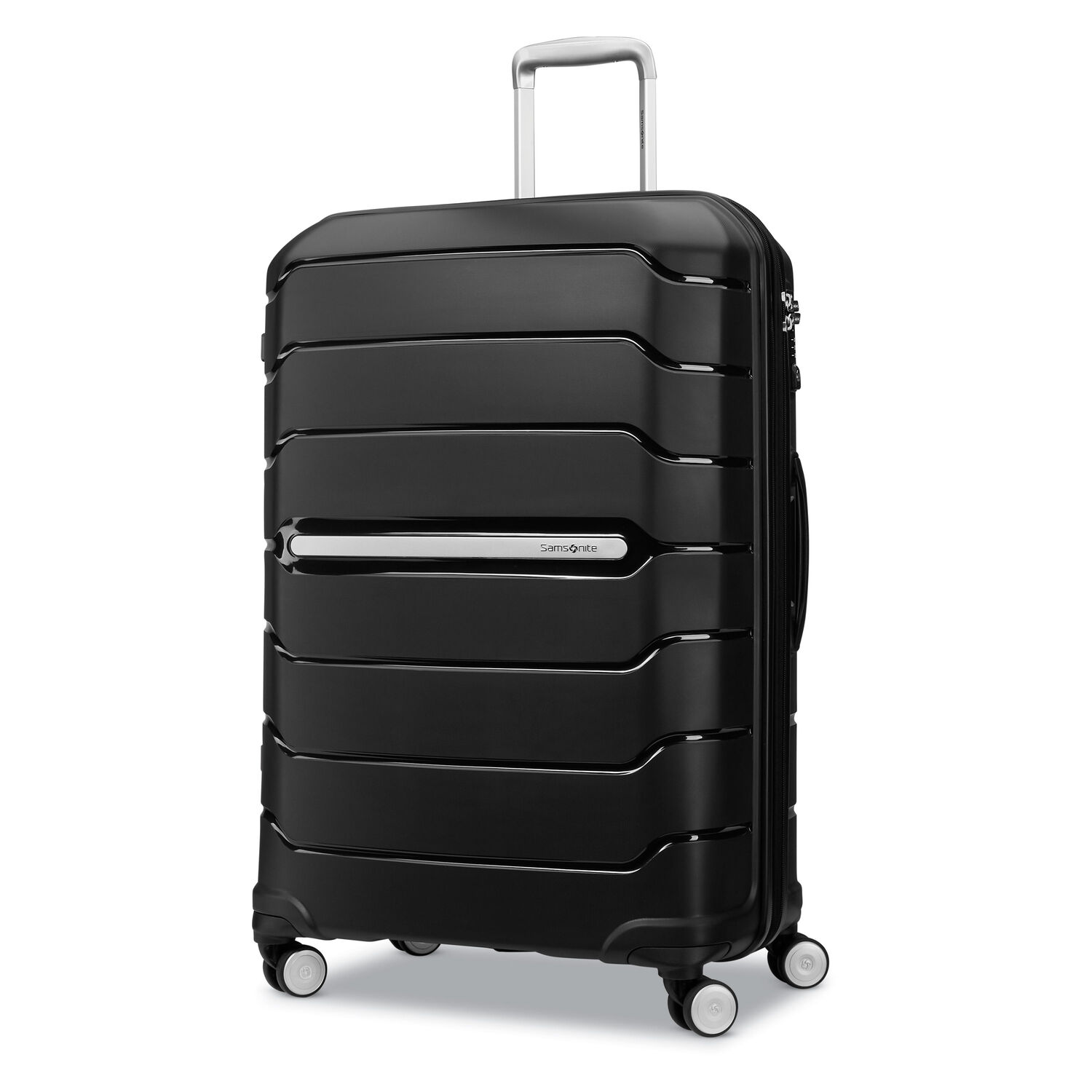 "Samsonite Freeform 28"" Spinner in the color Black."