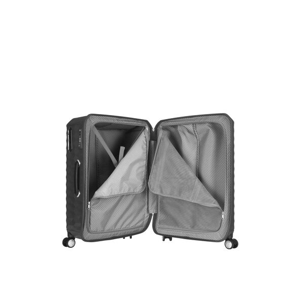 "Samsonite Polygon 28"" Spinner in the color Dark Grey."