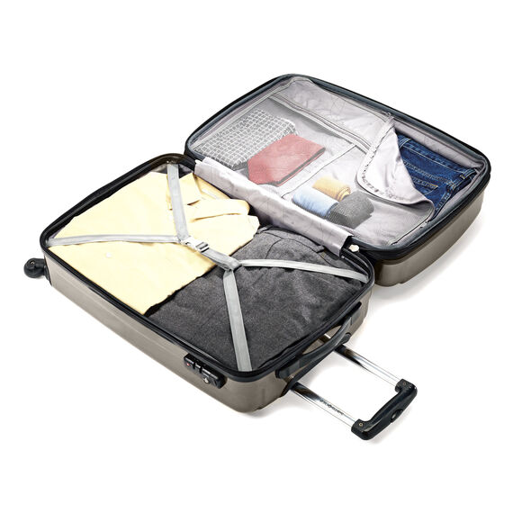 """Samsonite Reflex 2 20"""" Carry On Spinner in the color Graphite."""