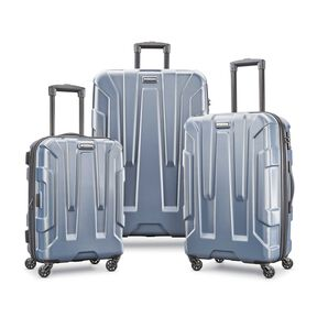 Samsonite Centric 3 Piece Set in the color Blue Slate.