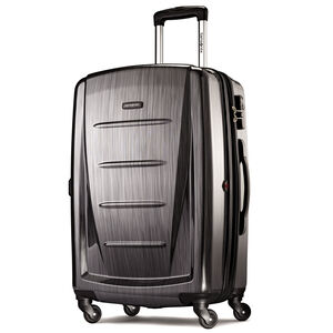 "Winfield 2 Fashion 24"" Spinner in the color Charcoal."
