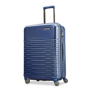 "Samsonite Spettro 25"" Spinner in the color Blue."