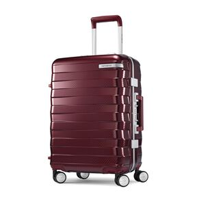 "Samsonite Framelock 20"" Spinner in the color Cordovan."