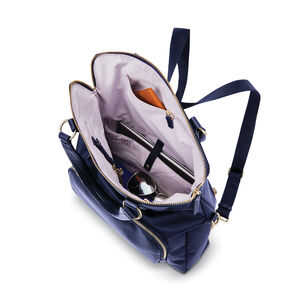 Samsonite Encompass Womens Convertible Tote Backpack in the color Navy.