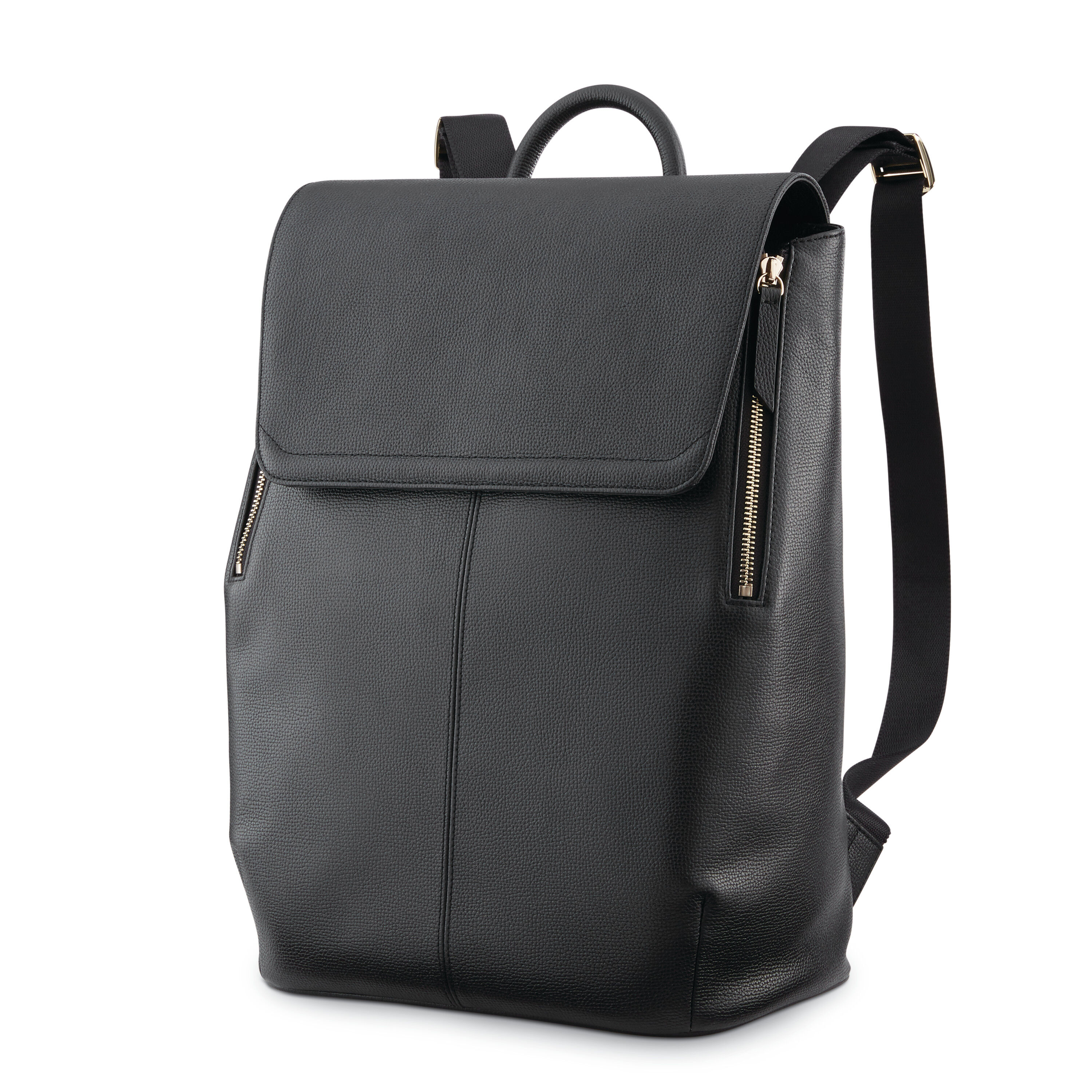 top fashion buying cheap presenting Ladies Leather Flap Backpack