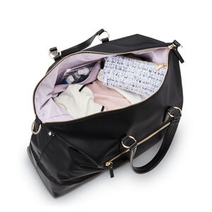Encompass Womens Convertible Weekend Duffel in the color Black.