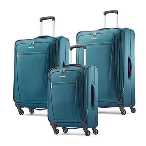 Samsonite Ascella-I 3 Piece Set in the color Teal.