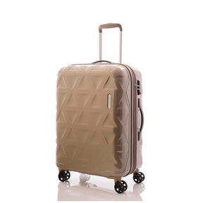 "Samsonite Novus 25"" Spinner in the color Latte."