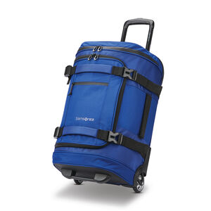 "Detour 22"" Wheeled Duffel in the color Cobalt Blue."