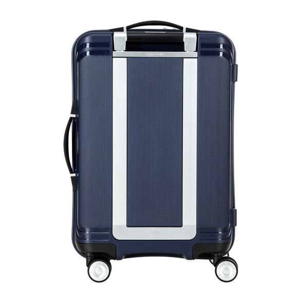 "Samsonite Hartlan 20"" Spinner in the color Navy."