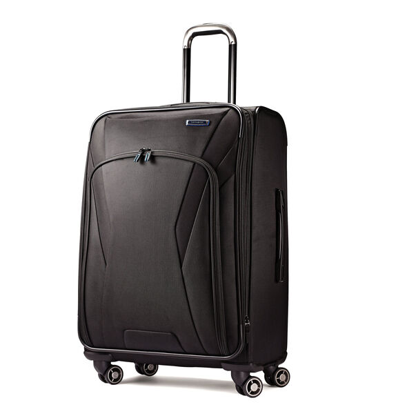 "Samsonite GeoTrakR 25"" Expandable Spinner in the color Black."