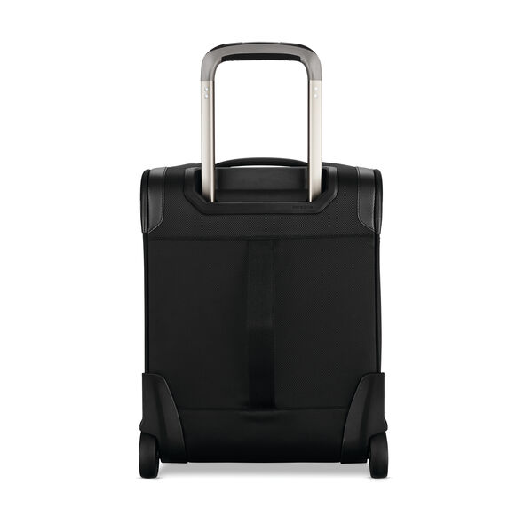 Samsonite Silhouette 16 Underseat Wheeled Carry-On in the color Obsidian Black.