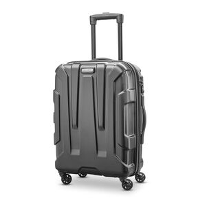 "Samsonite Centric 20"" Spinner in the color Black."