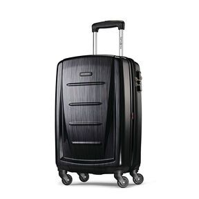 "Samsonite Winfield 2 Fashion 20"" Spinner in the color Brushed Anthracite."