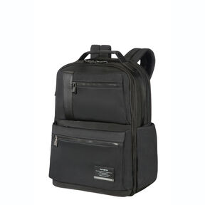 "Samsonite Openroad 17.3"" Weekender Backpack in the color Jet Black."
