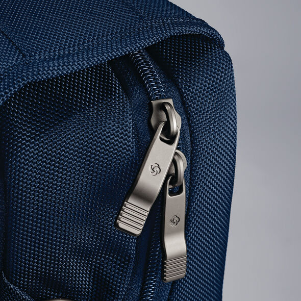 Samsonite Kombi Flapover Briefcase in the color Legion Blue.
