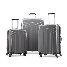 Samsonite Sparta 3 Piece Set in the color Dark Grey.