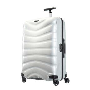 "Samsonite Firelite 28"" Spinner in the color Off White."
